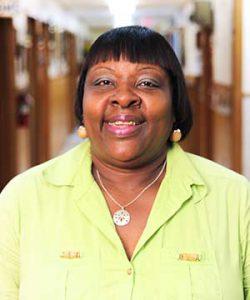 Sandra Brown, Receptionist